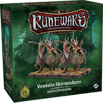 Runewars The Miniatures Game: Ventala Skirmishers Unit Expansion board game