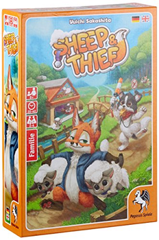 Sheep and Thief board game