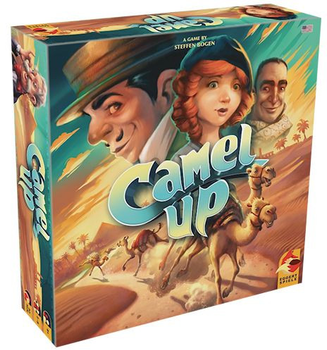 Camel Up (Second Edition) board game