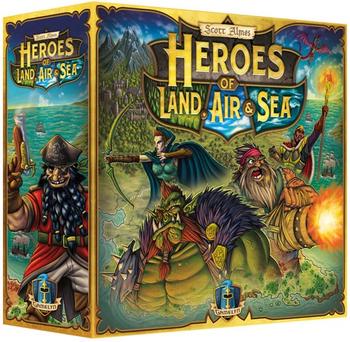 Heroes of Land, Air, & Sea board game