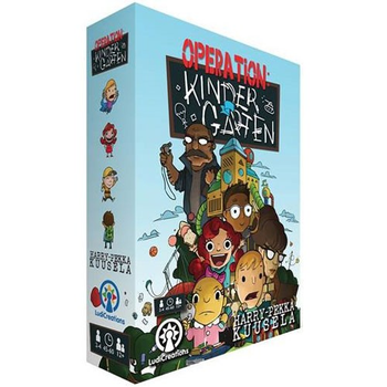Operation: Kindergarten board game