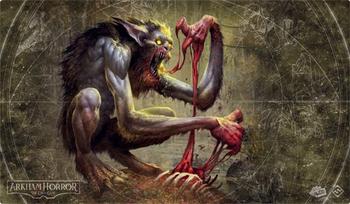 Arkham Horror: The Card Game - Bloodlust Playmat board game
