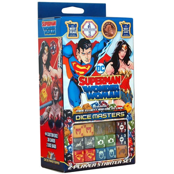 DC Dice Masters: Superman and Wonder Woman Starter Set board game