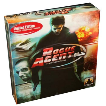 Rogue Agent board game