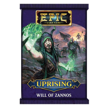 Epic Card Game: Uprising - Will of Zannos board game
