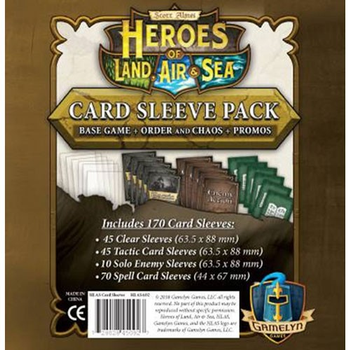 Heroes of Land, Air, & Sea: Card Sleeve Pack