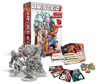Aristeia! Smoke & Mirrors board game
