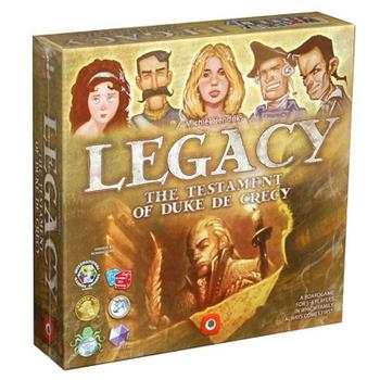 Legacy: The Testament of Duke de Crecy board game
