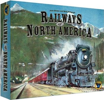 Railways of North America board game
