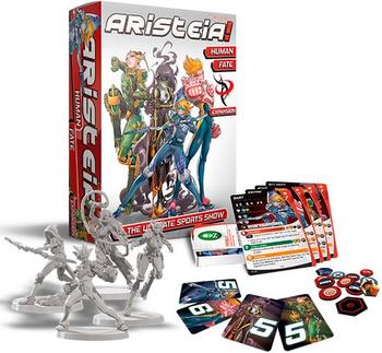 Aristeia! Human Fate Box board game