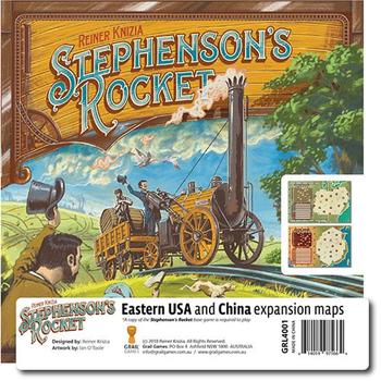 Stephenson's Rocket: Eastern USA & China board game