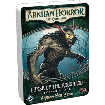 Arkham Horror: The Card Game - Curse of the Rougarou Scenario Pack board game