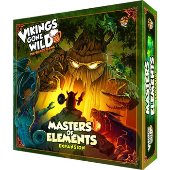 Vikings Gone Wild: Masters of Elements board game