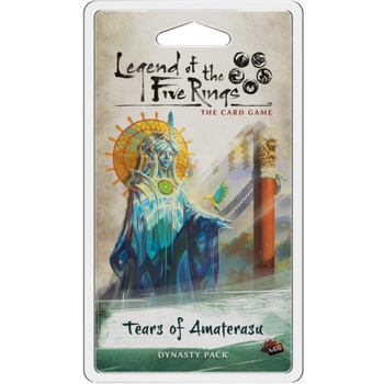 Legend of the Five Rings: The Card Game - Tears of Amaterasu Dynasty Pack board game