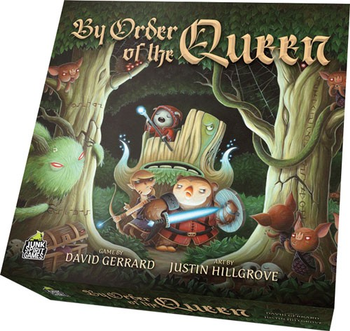 By Order of the Queen board game