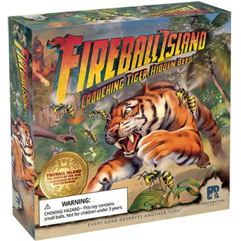 Fireball Island: Crouching Tiger, Hidden Bees board game