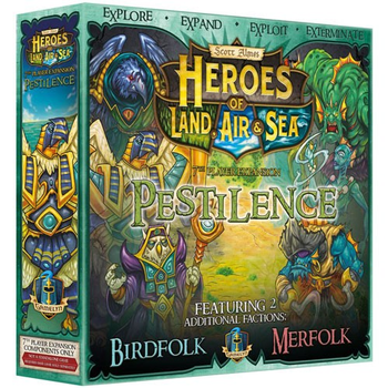 Heroes of Land, Air, & Sea: Pestilence Expansion board game