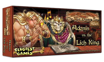 The Red Dragon Inn: Allies - Adonis vs. The Lich King board game