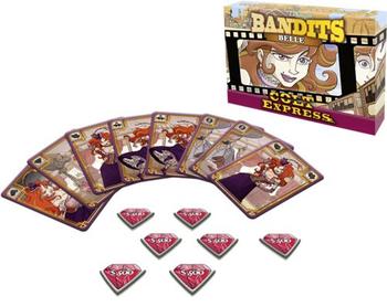 Colt Express: Bandits Expansion - Belle board game