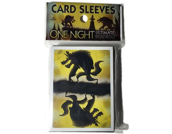 One Night Ultimate Werewolf: Card Sleeves board game