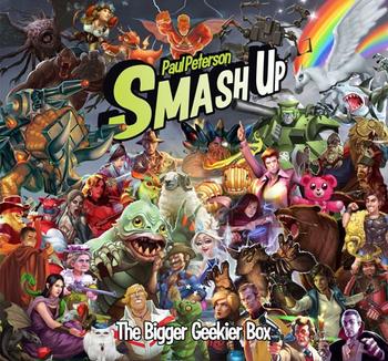 Smash Up: The Bigger Geekier Box board game
