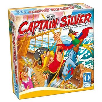 Captain Silver board game