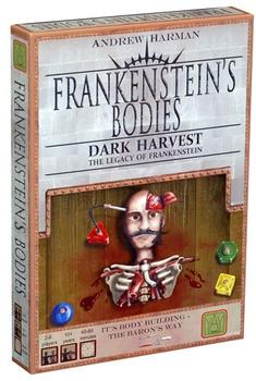 Frankenstein's Bodies board game