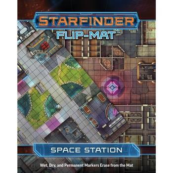 Starfinder RPG: Flip-Mat - Space Station board game