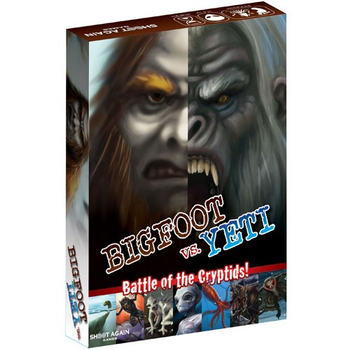 Bigfoot Vs Yeti board game