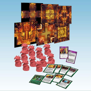 Super Dungeon Explore: Dragonback Peaks Tile Pack board game