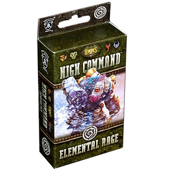 Hordes High Command: Elemental Rage Expansion board game