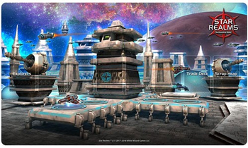Star Realms: Playmat - Ion Station