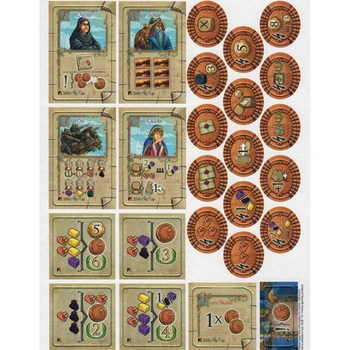 The Voyages of Marco Polo: The New Characters board game