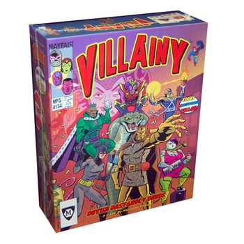 Villainy board game