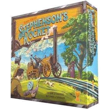 Stephenson's Rocket board game