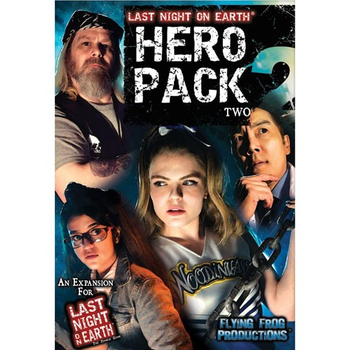 Last Night on Earth: The Zombie Game - Hero Pack Two board game