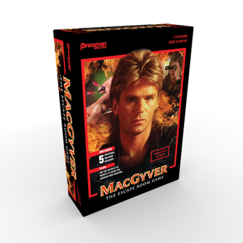 MacGyver: The Escape Room Game board game