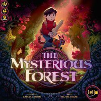 The Mysterious Forest board game