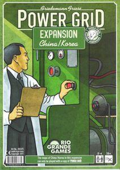 Power Grid: China / Korea Expansion board game