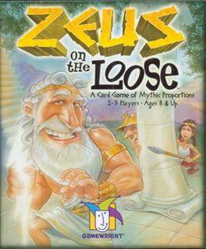 Zeus on the Loose Card Game board game