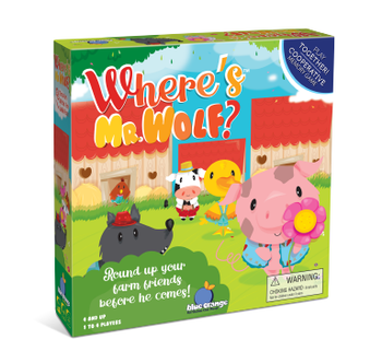 Where's Mr. Wolf? board game