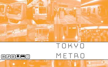 Tokyo Metro board game