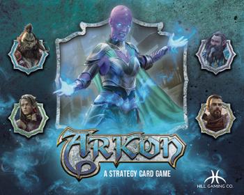 Arkon board game