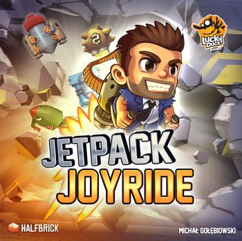 Jetpack Joyride board game
