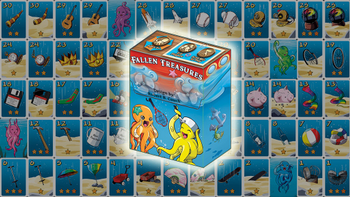 Fallen Treasures board game