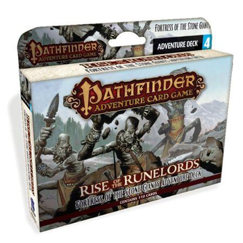 Pathfinder Adventure Card Game: Rise of the Runelords Adventure Deck 4: Fortress of Stone Giants board game