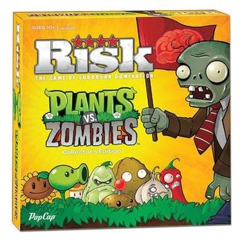 Risk: Plants vs. Zombies board game