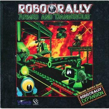RoboRally: Armed and Dangerous board game
