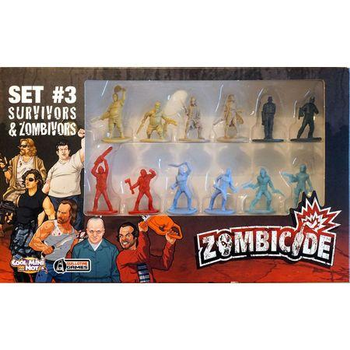 Zombicide Set #3: Survivors & Zombivors board game