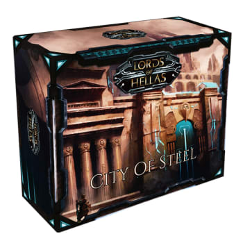 Lords of Hellas: City of Steel - 6th Player Expansion board game